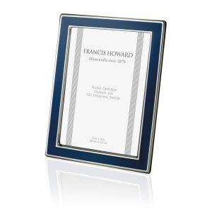 Bristol Dark Blue Silver Frame