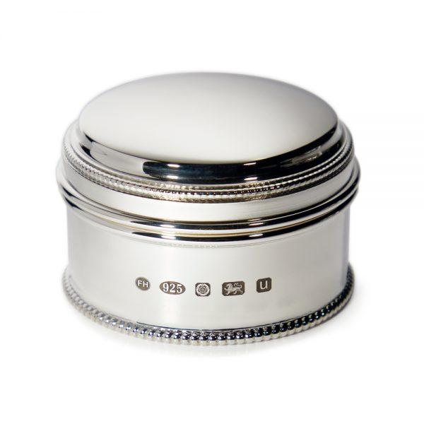 Medium Bead Box - Silver