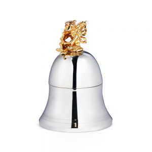 Silver Tooth Fairy Bell