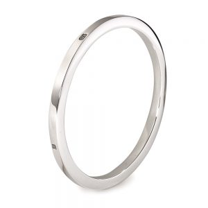 Silver Extra Heavy Square Bangle