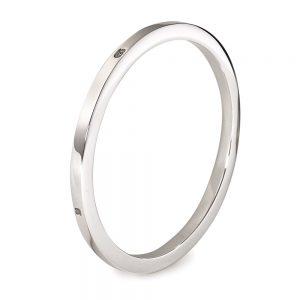 Silver Extra Heavy Square Bangle