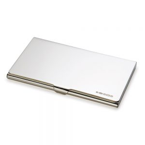 Silver Business-Credit Card Holder