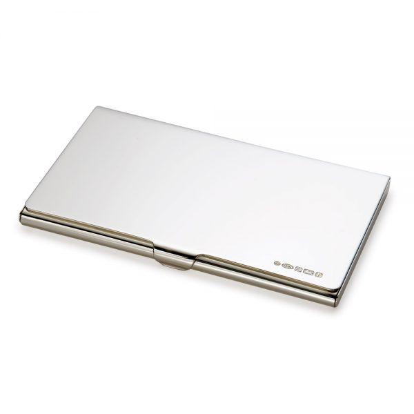 Silver Business-Credit Card Holder