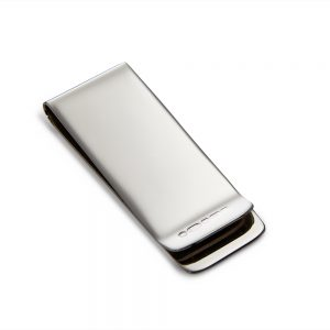 Silver Plain Money Clip
