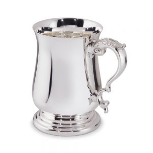 Silver 1PT Tankard 11019