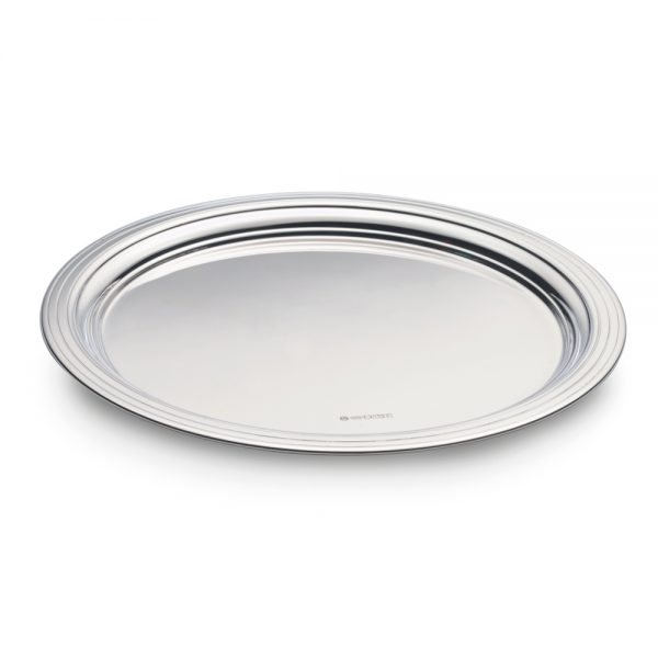 Silver Lined Edge Waiter