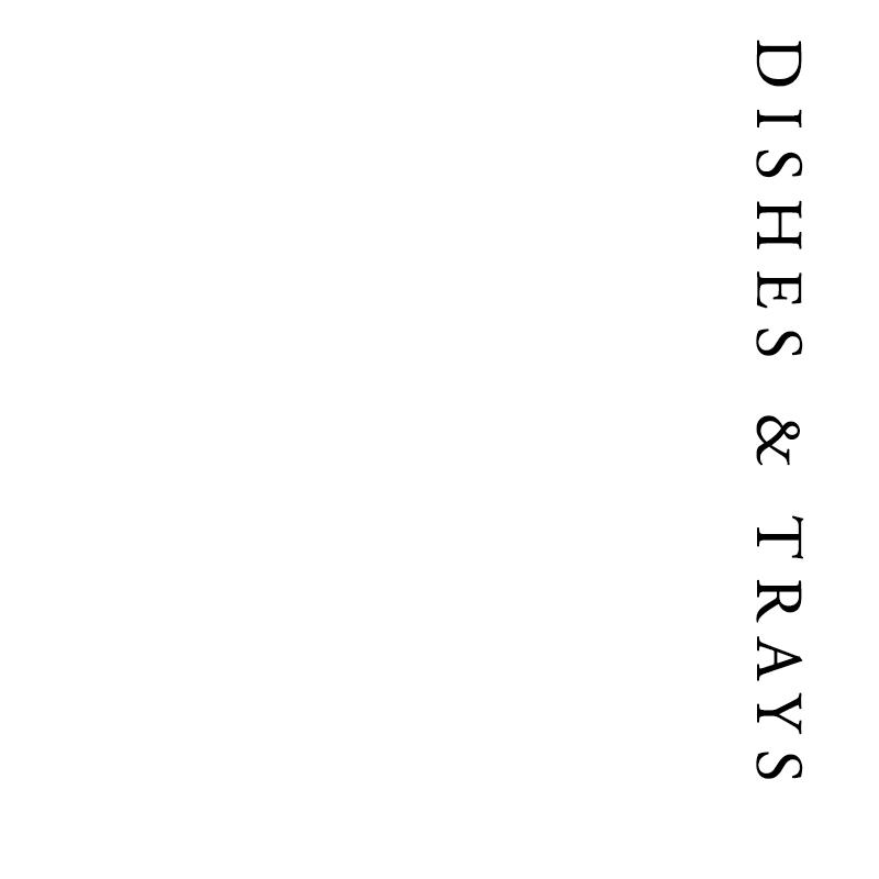 Dishes & Trays | Francis Howard