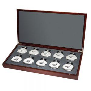 M310 Set of 10 Game Bird Flask