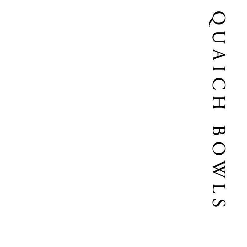 Quaich Bowls | Francis Howard