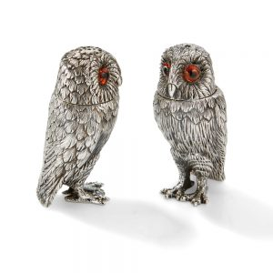 TQ003 Owl Salt & Pepper