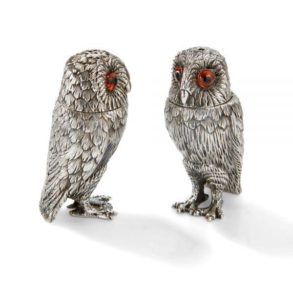 TQ003 Owl Salt & Pepper