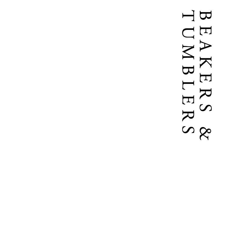Beakers & Tumblers | Francis Howard