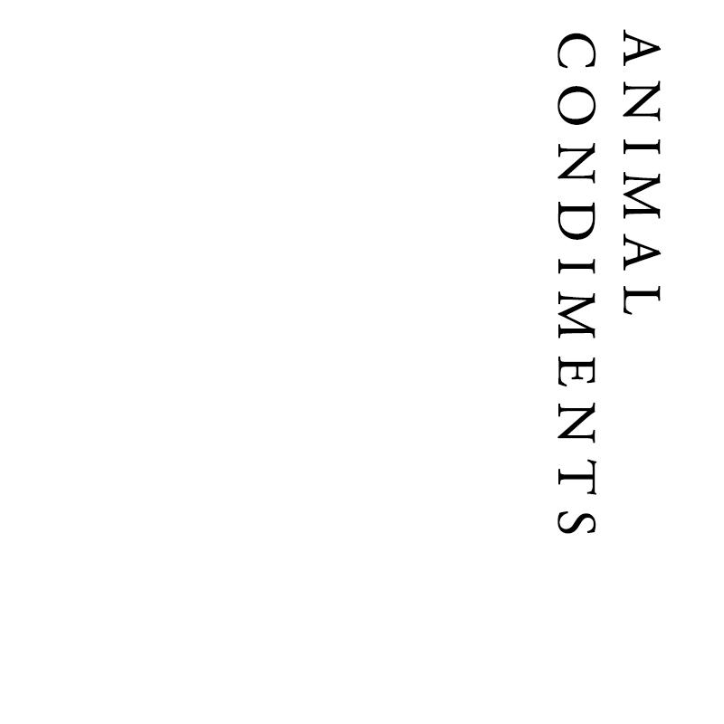 Animal Condiments | Francis Howard