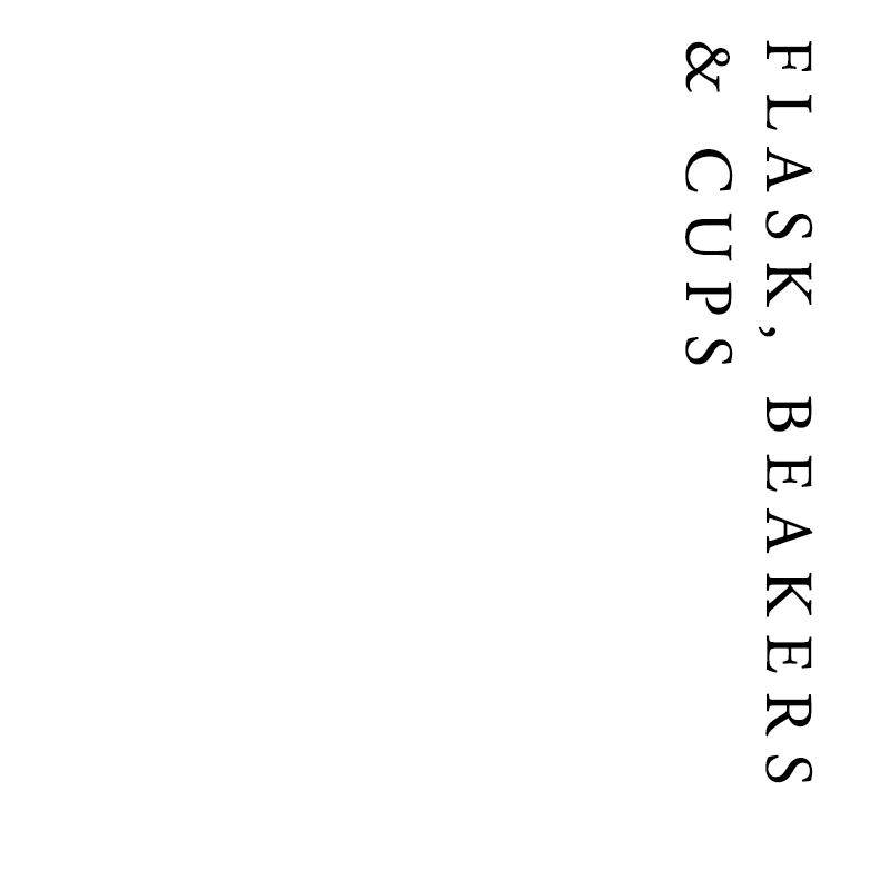 Flask, Beakers & Cups | Francis Howard