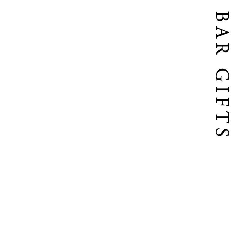Bar Gifts | Francis Howard